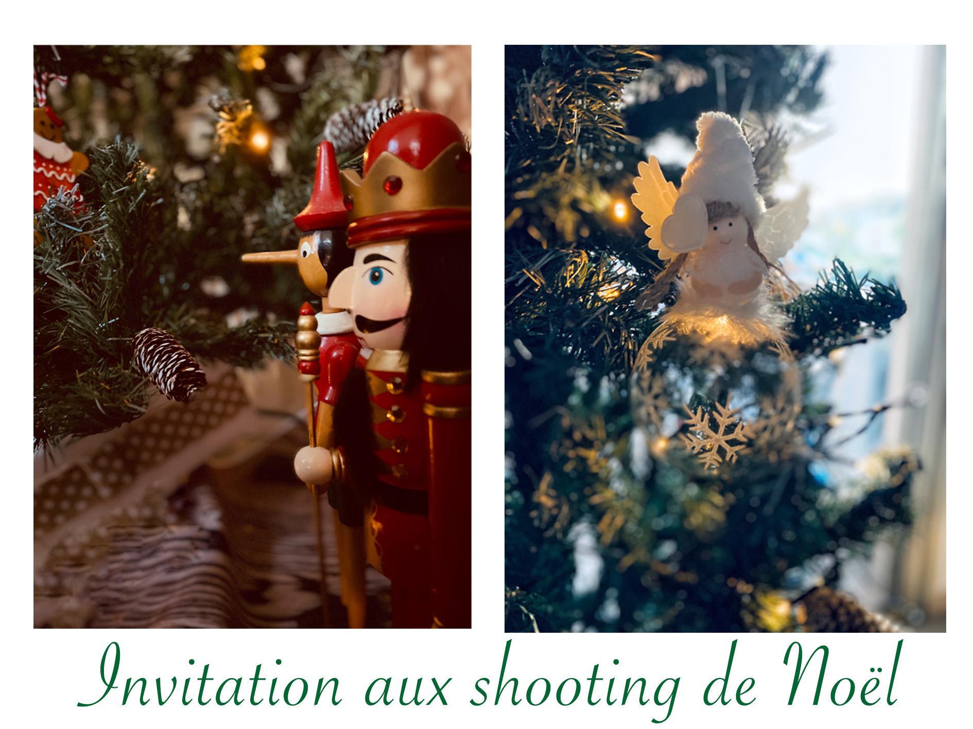 Shooting aux couleurs de Noël